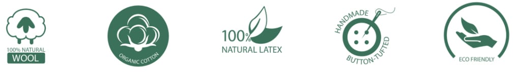 Amore beds natural certifications