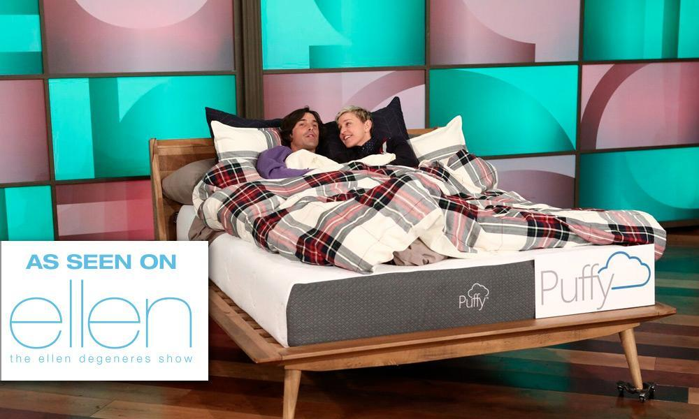 Puffy Mattress on Ellen Degeneres Show