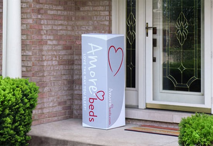 Amore beds delivery