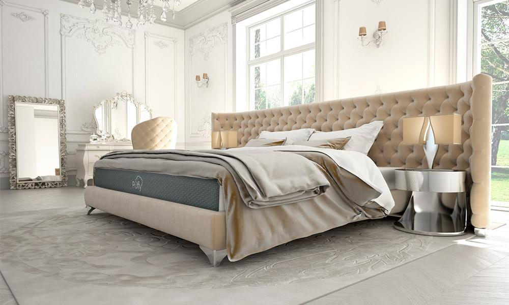 puffy bed