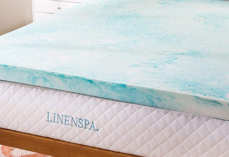 linenspa gel swirl mattress topper
