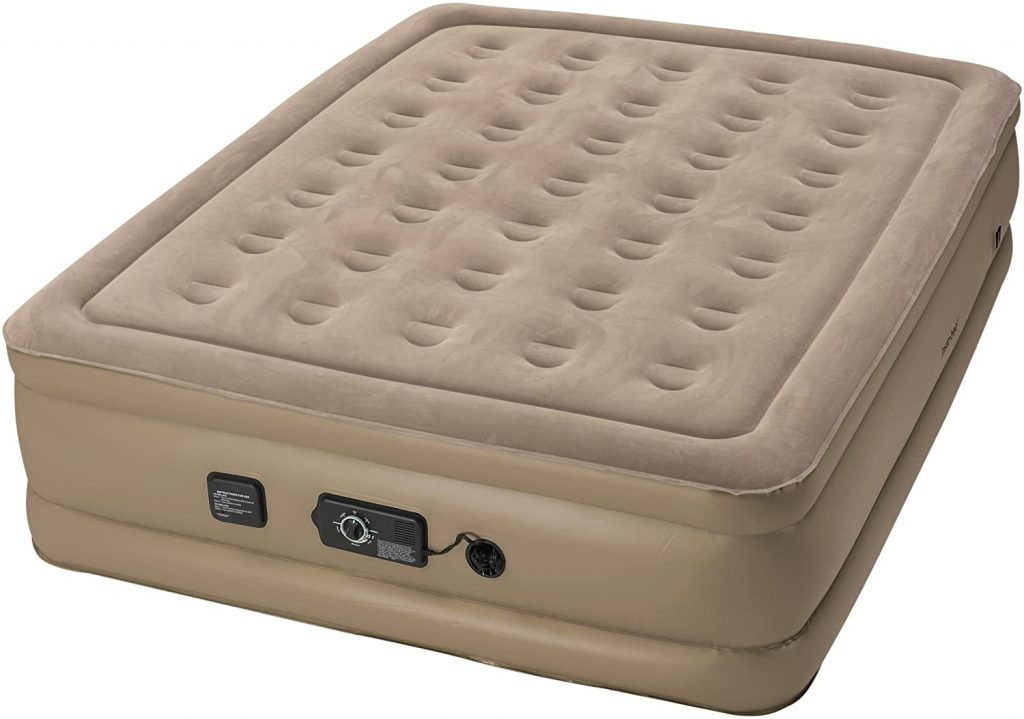 instabed raised air mattress