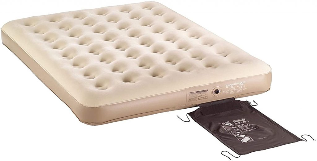 Coleman Soft Plush Top Inflated Quickbed