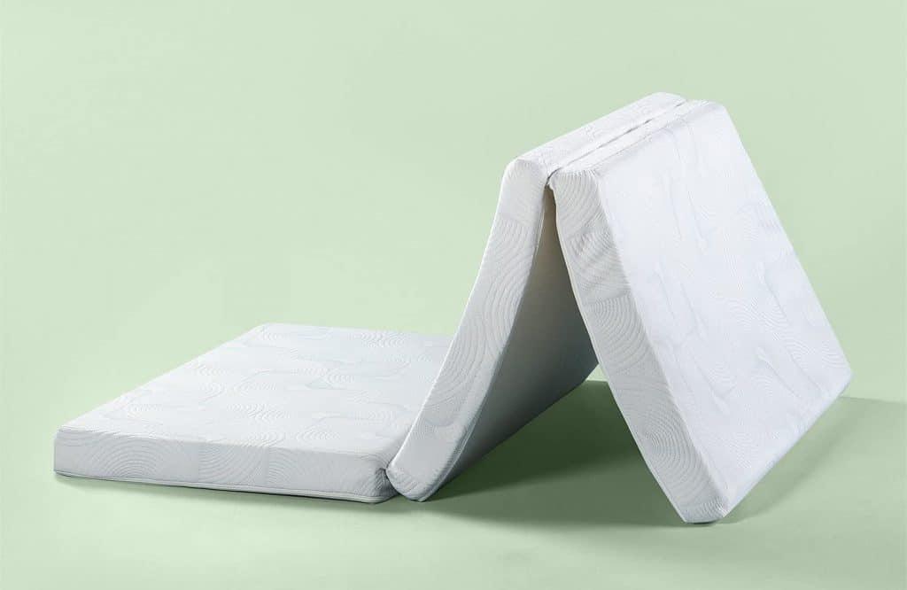 Zinus Gel Memory Foam 3 Inch Tri-Fold Comfort Portable mattress