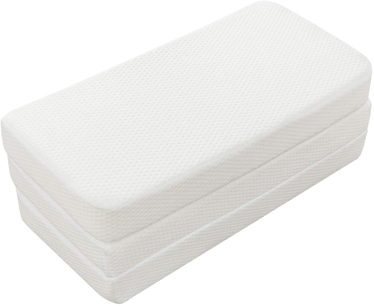 Fitted Foldable Memory Foam Pack n Play Mattress Pad