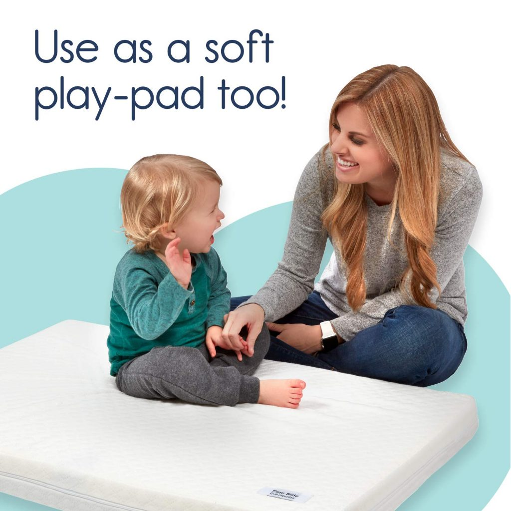 Hiccapop pack n play mattress