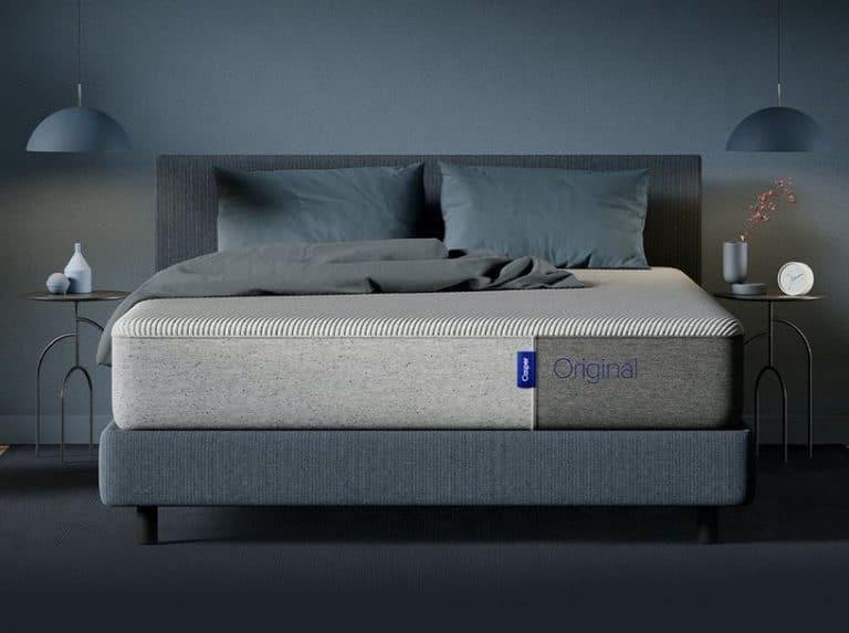 Casper mattress on a platform bed