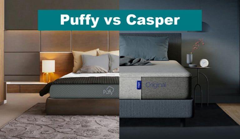 puffy vs casper comparisons