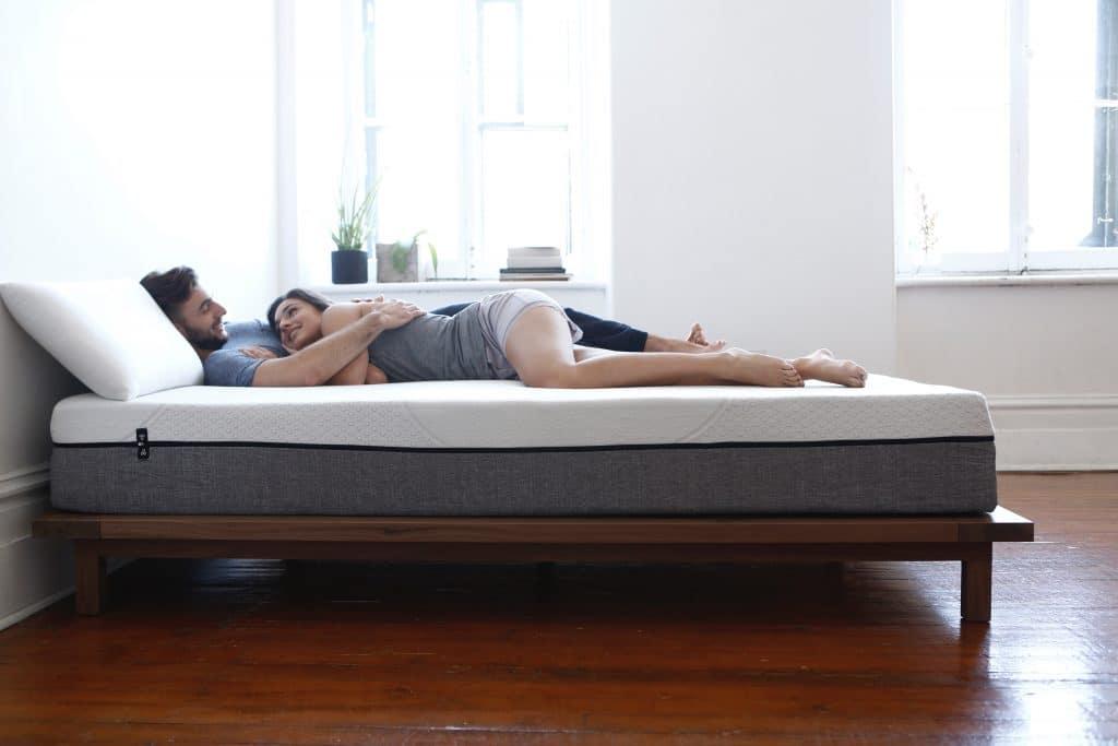 Yogabed mattress couple