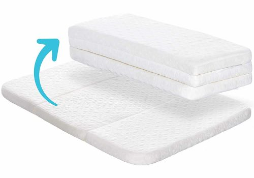 Milliard Tri-Fold Pack N' Play Mattress